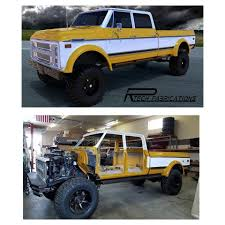 From Dream To Reality, We're Almost There. The Duke, A Chevy K50 ...