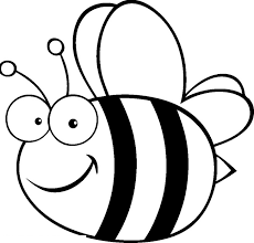 Fat Bees Coloring Pages For Kids Printable