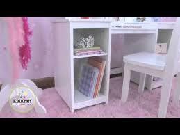 kidkraft deluxe vanity chair 13018 youtube