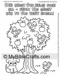 Coloring Page For Daniel Chapter 4