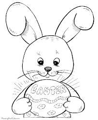 Coloring Pages For Easter Free Happy