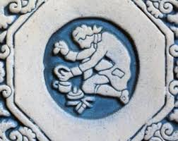 Moravian Pottery And Tile Works Wedding by Blue Pottery Tile Etsy