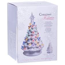 Bulbs For Ceramic Christmas Tree by Christmas Ceramic Christmas Tree Marvelous Retro Light Up White