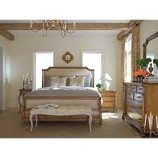Gardner White Bedroom Sets by Stanley Furniture Arrondissement Collection Upholstered Panel Bed