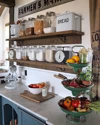 Kitchen Countertop Decorating Ideas Pinterest by Farmhouse Kitchen Counter Decor Best 20 Countertop Decor Ideas On