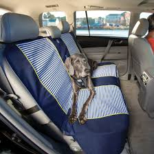Waterproof Bench Seat Cover For Dogs   Nantucket Stripe Pet Carriers Oxford Fabric Paw Pattern Car Seat Covers Bestfh Suv Van Truck Cover Gray Bendetachable Head Rest Chevy Bench New Aftermarket Seats 81 87 C10 Houndstooth Seat Covers Ricks Custom Upholstery Rear Split Cushion Pad For Shop Saddle Blanket Weave Full Size Suv Universal Set Fit For Sedan Carviewsandreleasedatecom Pink Camo 1997 1986 Symbianologyinfo Congenial Ptoon Boats Coverage Flat Cloth