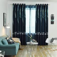 großhandel jarl haus verdunkelung fenster vorhang panels für wohnzimmer tropical druck gardinen mit ösen für kinder schlafzimmer jarlhome 23 41