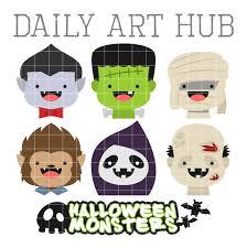 Cyanide And Happiness Halloween by 100 Cute Halloween Cute Halloween Monster Heads Clip Art