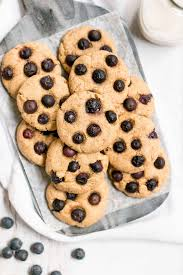 Healthy Blueberry Cookies Amys Healthy Baking