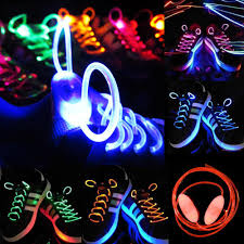 led shoelaces luminous shoe laces flash light up glow stick