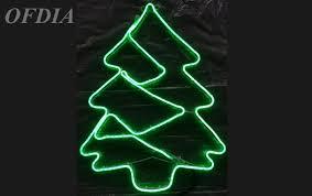 LED Christmas Tree Silhouettes