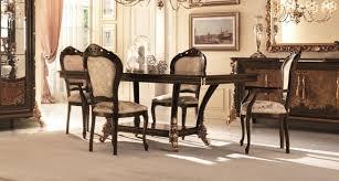 klassische 4 stühle designer stühle italienische esszimmer möbel holz garnitur