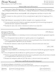 Sample Human Resources Resume Summary Resource Examples Services Samples Hr Administrative Assistant