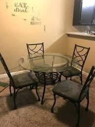 Ashley Furniture Charlotte Glass Dinning Room Table Sales North Carolina