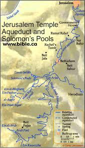 Threshing Floor Bible Meaning by The Jerusalem Water Aqueduct From The Solomon U0027s Pools