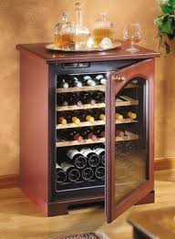 Tresanti Wine Cabinet With 24 Bottle Cooler by Bar Cabinet With Wine Cooler Foter