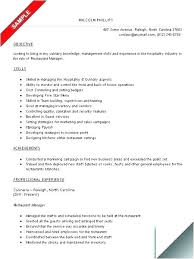 Some Examples Of Resume Example Form This Is Job