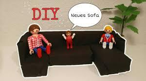 playmobil diy sofa selber machen pimp my playmobil bastelvideo familie hund