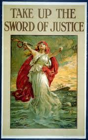 Where Did The Lusitania Sunk Map by Take Up The Sword Of Justice World Digital Library