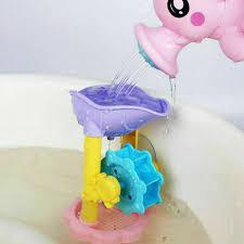spass bad spielzeug dusche spray wasser wasserrad für