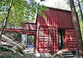 104 Building A Home From A Shipping Container Family Blocks In Redwoods Faircompanies