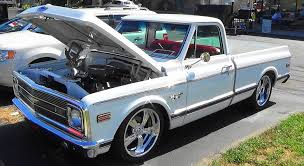 This Beautiful All White Mostly Stock '69 Chevy C/10 Street Truck Is ...