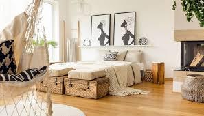 schlafzimmer idee boho style schlafzimmer mit deko
