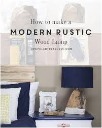 Make Cypress Knee Lamps by Diy Modern Rustic Wood Lamp Mountain Modern Life