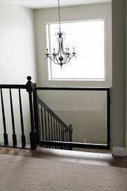 A DIY Baby Gate - Chris Loves Julia Diy Bottom Of Stairs Baby Gate W One Side Banister Get A Piece The Stair Barrier Banister To 3642 Inch Safety Gate Baby Install Top Stairs Against Iron Rail Youtube Diy For With Best Gates For Amazoncom Regalo Of Expandable Metal Summer Infant Universal Kit Walmart Canada Proof Child Without Drilling Into Child Pictures Ideas Latest Door Proofing Your Banierjust Zip Tie Some Gates Works 2016 37 Reviews North States Heavy Duty Stairway 2641 Walmartcom