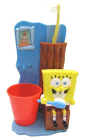 spongebob squarepants bath accessories toothbrush holder