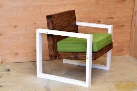 modern outdoor chair diy build youtube
