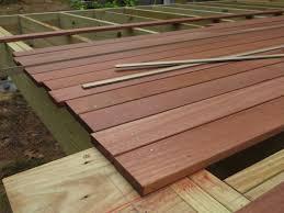 Wood Decking Boards by Choosing Wood Decking Buildingadvisor