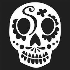 Skeleton Pumpkin Carving Patterns Free by The Crafter U0027s Workshop Balzer Bits Doodling Template Sugar Skull