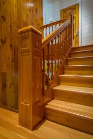 Stair Delightful Image Of Home Interior Stair Design Using Solid ... Ideas Attractive Deck Stairs Plus Iron Handrails For How To Build Kerala Home Design And Floor Planslike The Stained Glass Look On Living Room Stair Wall Design Hallway Pictures Staircase With Home Glossy Screen Glass Feat Dark Different Types Of Architecture Small Making Safe Wooden Stairs Steel Railing Interior Ideas Custom For Small Spaces By Smithworksdesign Etsy 10 Best Entryways Images Pinterest At Best Solution Teak
