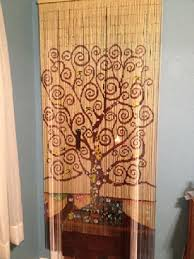 Bamboo Bead Curtains For Doorways by Amazon Com Tree Of Life Beaded Curtain 125 Strands Hanging