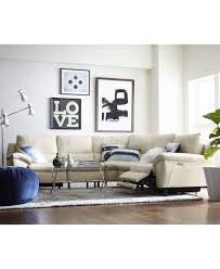 White Leather Sectional Sofa Macy S • Leather Sofa