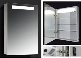 led lighted medicine cabinets with mirrors bathroom lighting