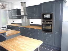 cuisine grise plan de travail bois cuisine grise plan de travail bois collection et cuisine gris