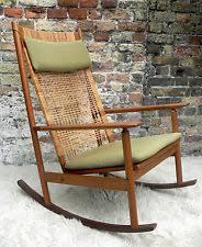 Vintage Banana Rocking Chair by Wicker Rocking Chair Ebay