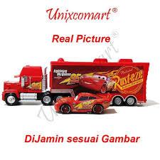 Jual Mainan Anak Cars Lightning McQueen And Mack Truck Di Lapak ...