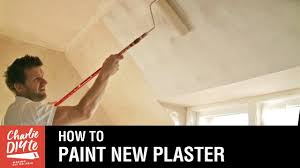 how long does plaster take to dry how to paint new plaster with a mist coat youtube