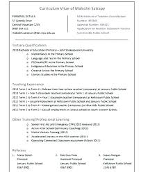 Resume Examples For Primary Teachers Together