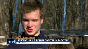 Wisconsin Teens Build Their Own Backyard Roller Coaster - YouTube Rdiy Outnback Negative G Backyard Roller Coaster Album On Imgur Wisconsin Teens Build Their Own Backyard Roller Coaster Youtube Dad Builds Hot Wheels Extreme Thrill Kids Step2 Home Made Wood Hacked Gadgets Diy Tech Blog Retired Engineer Built A For His Grandkids Qugriz With Loop Outdoor Fniture Design And Ideas Pvc Rollcoaster 2015 Project Designing A Safe Paul Gregg Parts Of Universals Incredible Hulk Set For Scrapyard