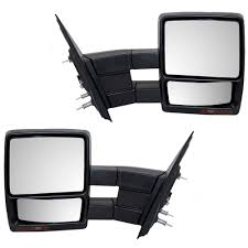 08-14 Ford F-150 Pickup Truck Set Of Side Power Tow Mirrors Heated ... 2009 Ford F150 Driver Side Mirror Replacement 28 Images Buy 1990 Nissan Truck Rear Driver Side View Mirror Black Napa West Coast 7804 16 The Complete Replacement Cost Guide Nos Ford Outer Mirror Replacement Glass Transit Mk1 Mk2 D Truck Chevy Silverado Other Makesmodels Precut Custom Solutions Burco Inc Mirrors Luxury Heavy Duty Rh Dvids Images Soldier Cleans On Her M915a3 Truck Image 1 Heated Head Aw Direct Ford Car Perfect Convex Safety Stock Photos