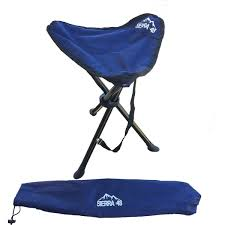 100 Folding Chair With Carrying Case 2 Pack Camping Tripod Stool Perfect Hiking With