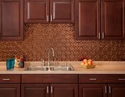 Copper Tiles For Backsplash by Using Copper Backsplash For Kitchen U2013 Bronze Backsplash Modern