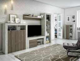 premium wohnwand in 4 vintage design holz dekoren 280x192x35