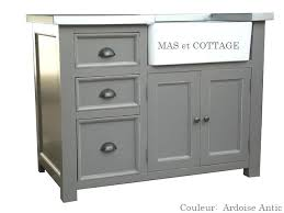 meuble bas cuisine castorama bloc evier cuisine meuble evier de cuisine 3 tiroirs zinc cagne