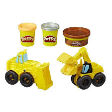 100 Construction Trucks PlayDoh Wheels Excavator And Loader Toy