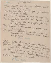 Walt Whitman The Wound Dresser by Catalog Of The Walt Whitman Literary Manuscripts In The Yale